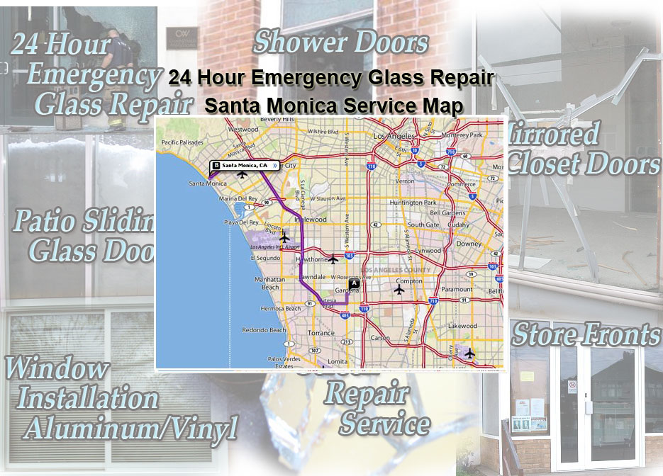 24 Hour Emergency Glass Repair In Santa Monica Glass Aluminum And