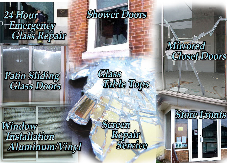 24 Hour Emergency Glass Repair Glass Shower Doors Window Repair